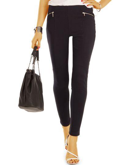 Leggings - Stretch Hose eng geschnitten - Damen  - j23g