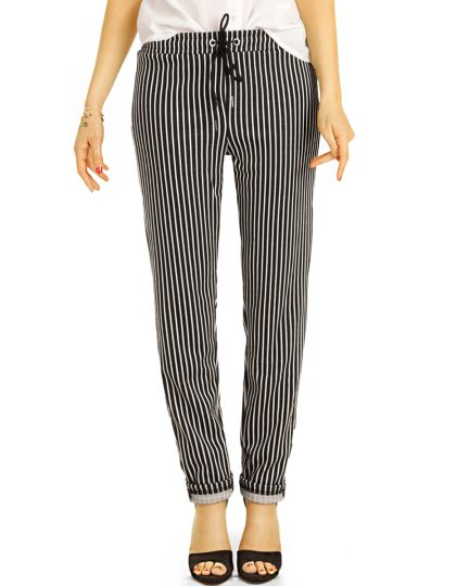 Hosen, bequeme tapered mid waist  Joggpants - Damen - t117z