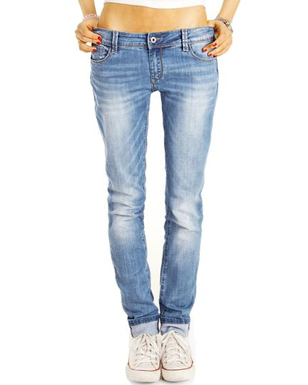 SPRAY Boyfirend Low Waist Hüftjeans Hose im lockeren bequemen weiten Relaxed Fit - Damen - j21k-2