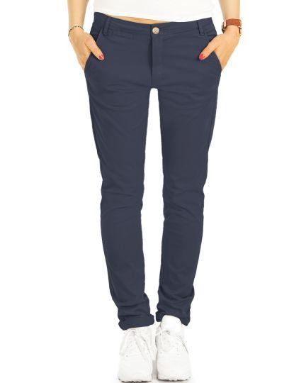 Chinos, Stoffhosen, klassische Hosen mit Stretch - Damen - j5m