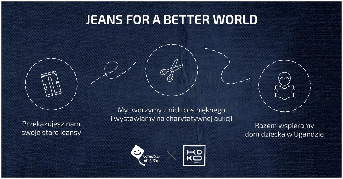 Der Weg deiner alten Jeans
